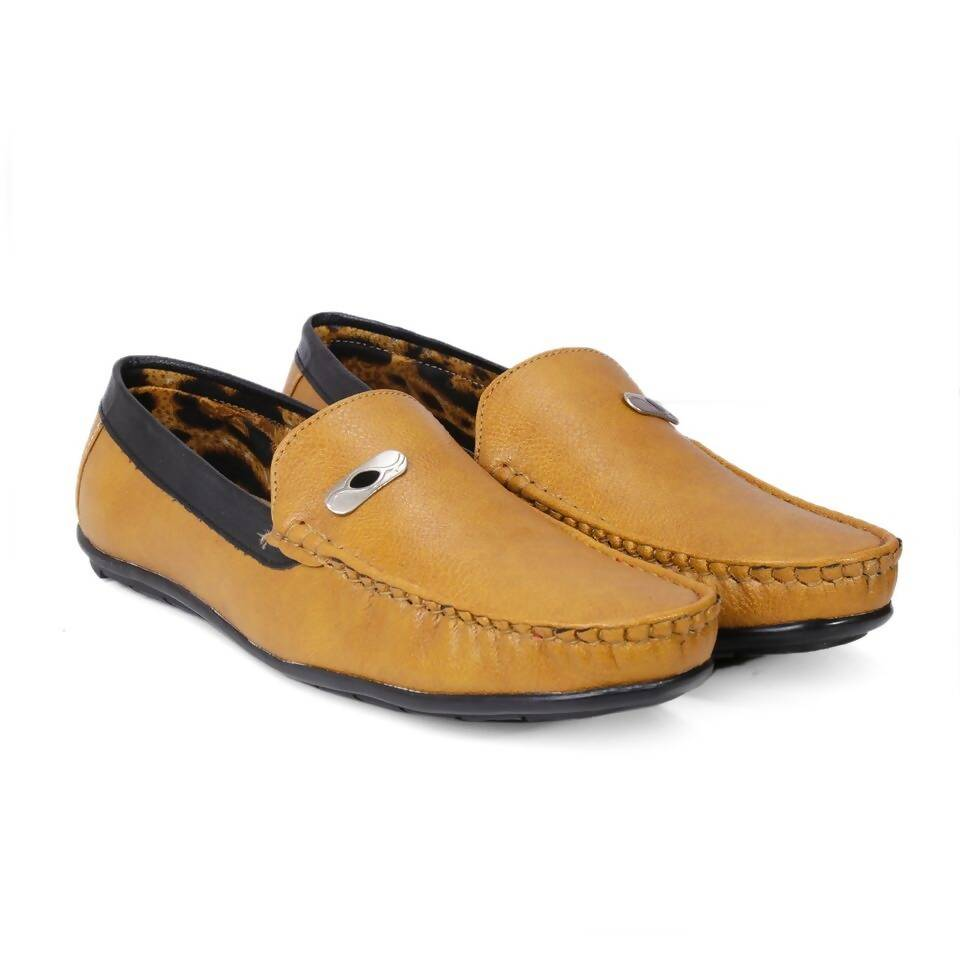 Rvy Tan Men Casual Shoes Loafer