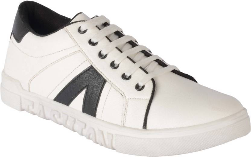 Goosebird Mens Stylish Canvas Shoes Canvas Shoes For Men  (White)