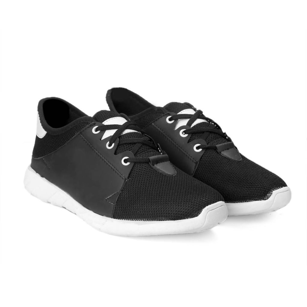 Rvy Men's Black Casual Shoes