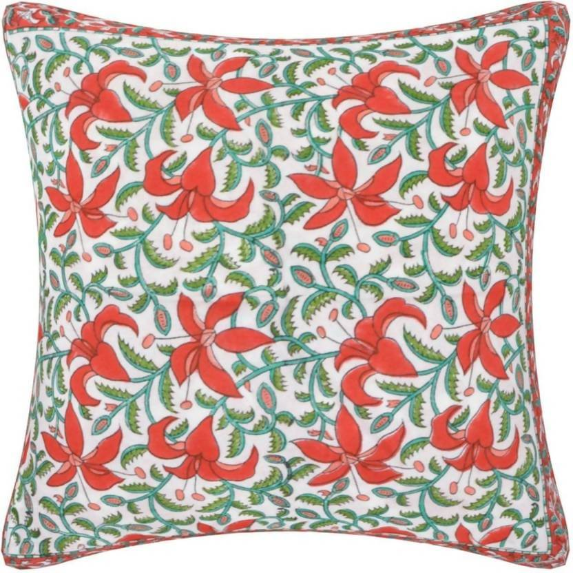 Myyra Self Design Cushions Cover (50 cm*30 cm, Multicolor)