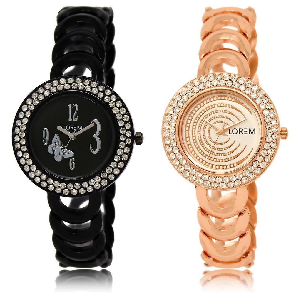 LOREM LR201-202 COMBO Watch - For Women
