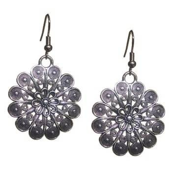 Base Metal Fashion Ethnic Earring
