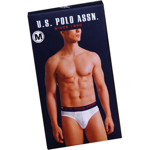 US Polo Association Men's Cotton Brief (Pack of 3)