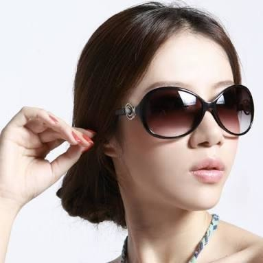 Sunglasses Brown Aviator For Women