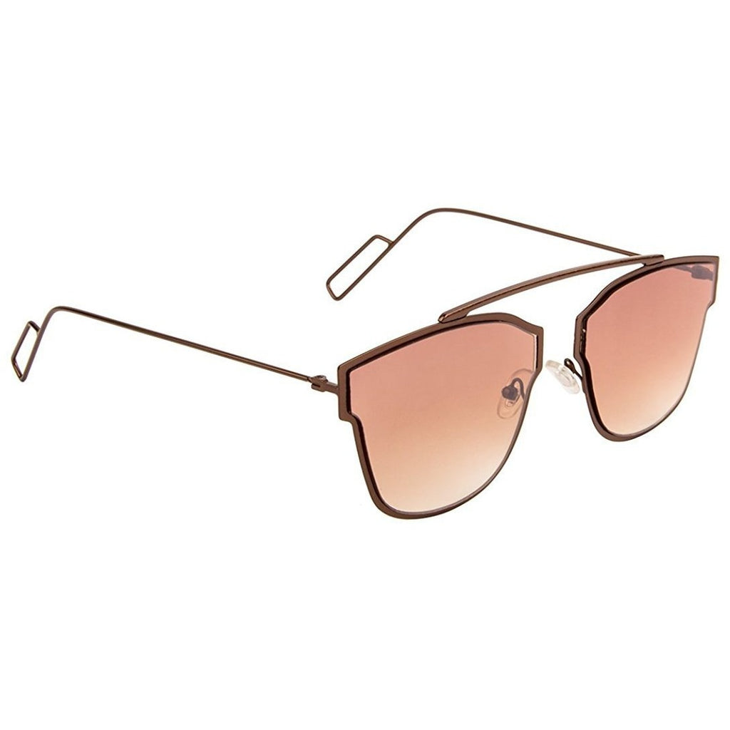 Brown Square Brown Sunglass For Men