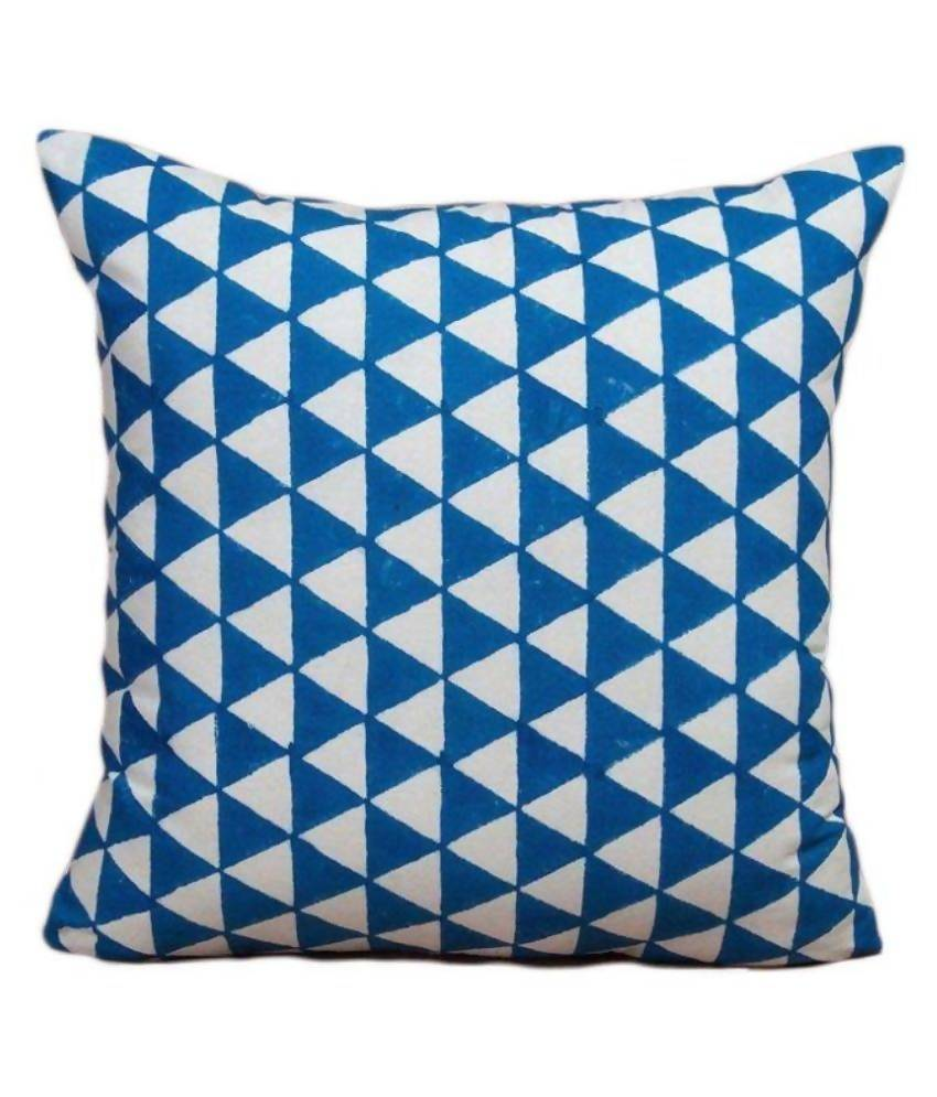 Myyra Multicolour Printed Cotton Cushion Cover
