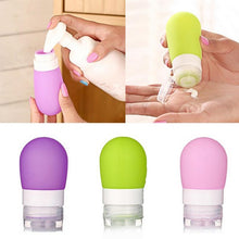 Silicone Refillable Travel Bottles