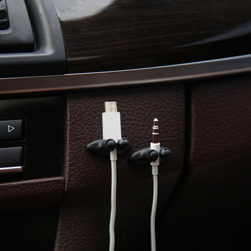 Car Cable Holder Clips (8 Pcs)