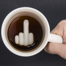 Middle Finger Base Ceramic Mug
