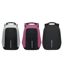 The Diamond Anti Theft Backpack with USB Charger