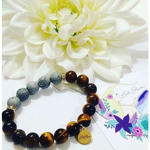 Essential Oil Diffuser Bracelets-Tiger's Eye