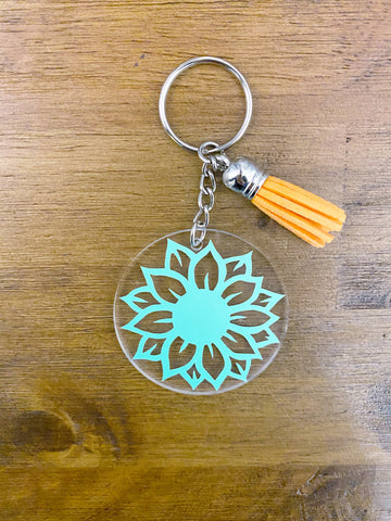 Personalized Keychains with Tassel