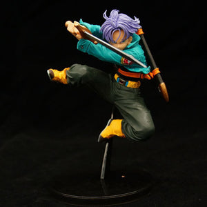 15cm Dragon Ball Z Base form Trunks Sword Attack Stance (Options - With or without Box)