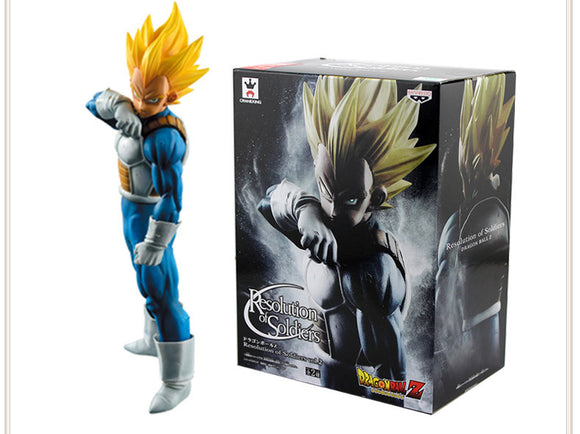 18cm Dragon Ball Z Super Saiyan Vegeta Stance (Options - With or Without Box)