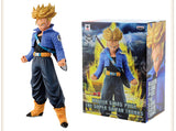 19CM Dragon Ball Z Trunks Action Figure Super Saiyan Pose (Options - with or without Retail box)