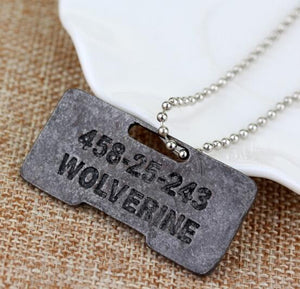 2017 Movie X-Men Origins Wolverines Dog Tag ID