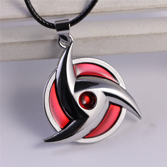 Uchiha Mangekyō Sharingan Necklace