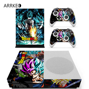 ARRKEO Dragon Ball Super Son Goku SSJ Blue Xbox One skins