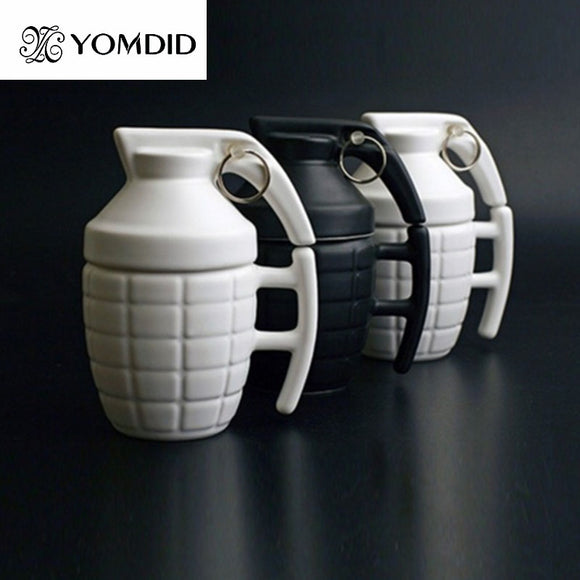 Grenade Coffee travel Mugs