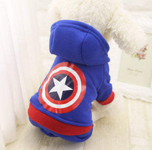 2018 Dog Winter Clothes For Small Dogs Pet Hoodie