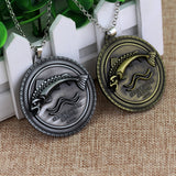Game Of Thrones Pendant Necklaces, Daenerys House Targaryen Three Headed Dragon, House of Stark & More