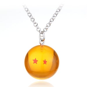 Dragon Ball Z 1-7Star Pendants