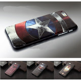 Marvel Spiderman Batman Captain America Soft Silicon Cover Cases for iPhone 5 6 6s 7 Plus