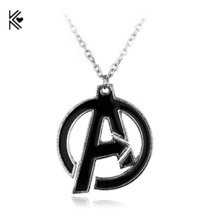 Marvel The Avengers A Symbol Pendant