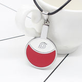 Itachi Uchiha Hidden Leaf Village Symbol Necklace