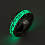 Glow In The Dark Ancient looking Luminous Ring