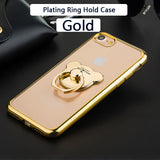 Ring Case For Apple iPhone 6, 6S, 7, 8, Plus
