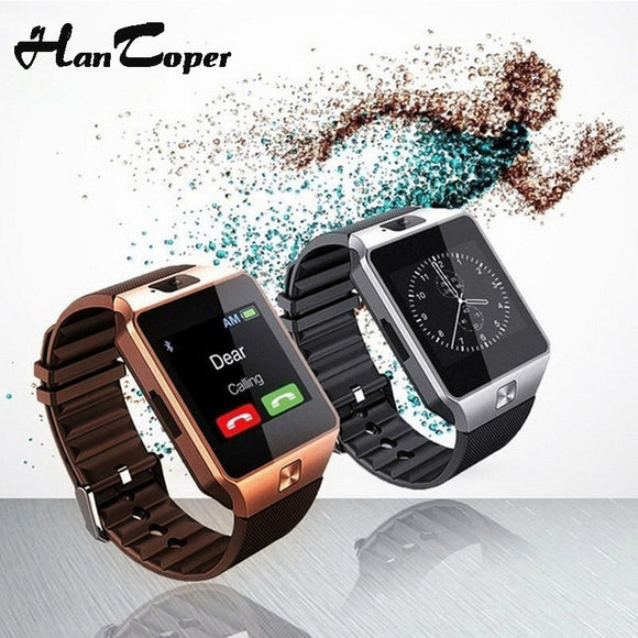 Smart Watch Digital DZ09 U8 with Bluetooth, Compatible with Iphone and Androids