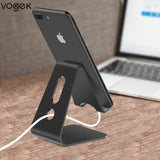 Mobile Phone Aluminium Alloy Holder Stand, Universal Holder for iPhone X/8/7/6/5 Plus Samsung Phone/ipad