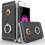 Luxury Hard Kickstand Metal Ring IPhone Case holder For iPhone 6 6s Plus 7 plus 8 Plus X