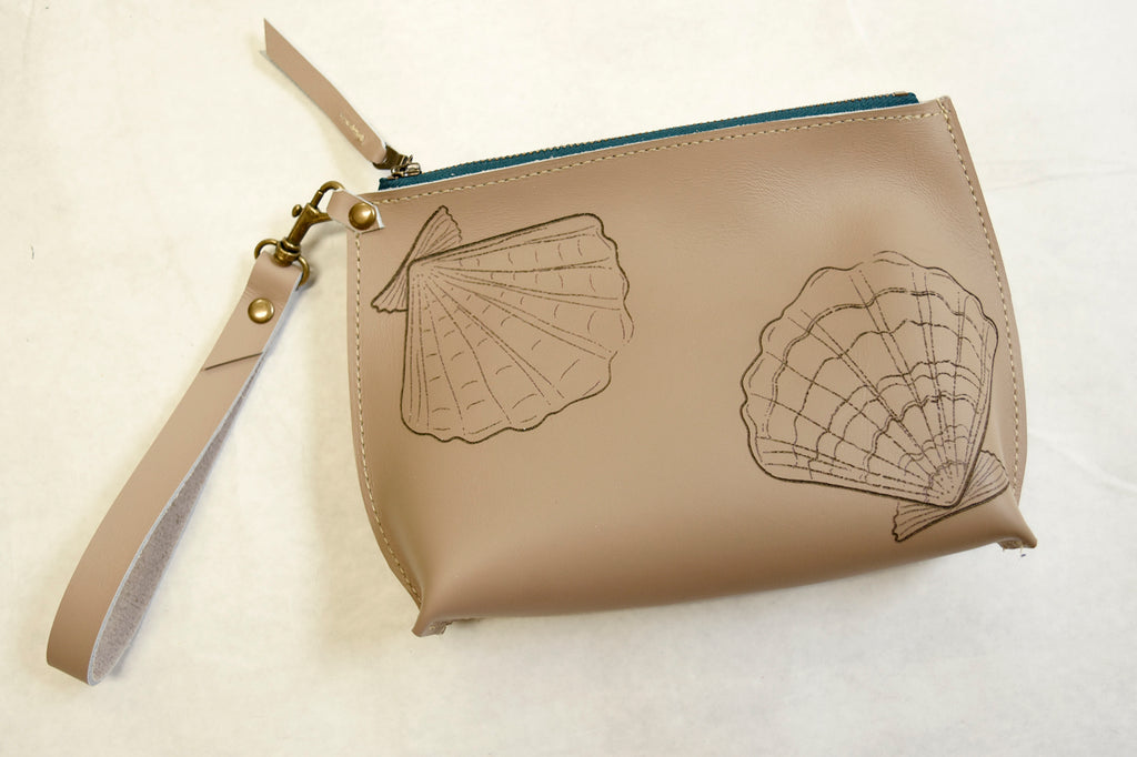 Sea Shell Everyday Wristlet