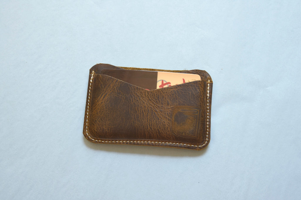 Slim Wallet w/ clear ID pouch