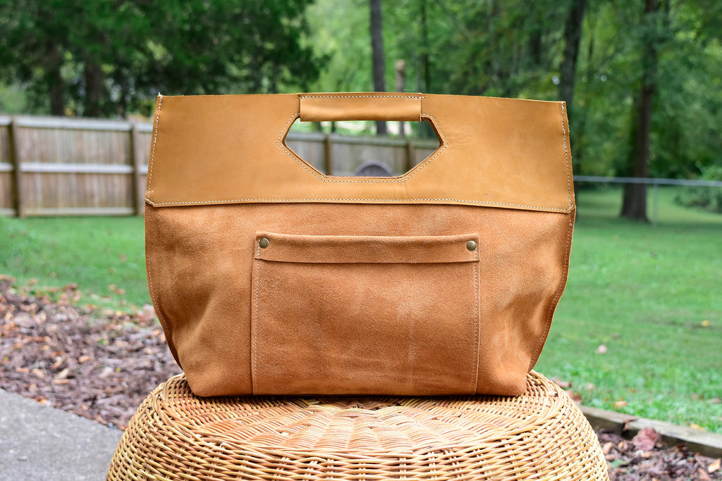 Toni Leather Satchel