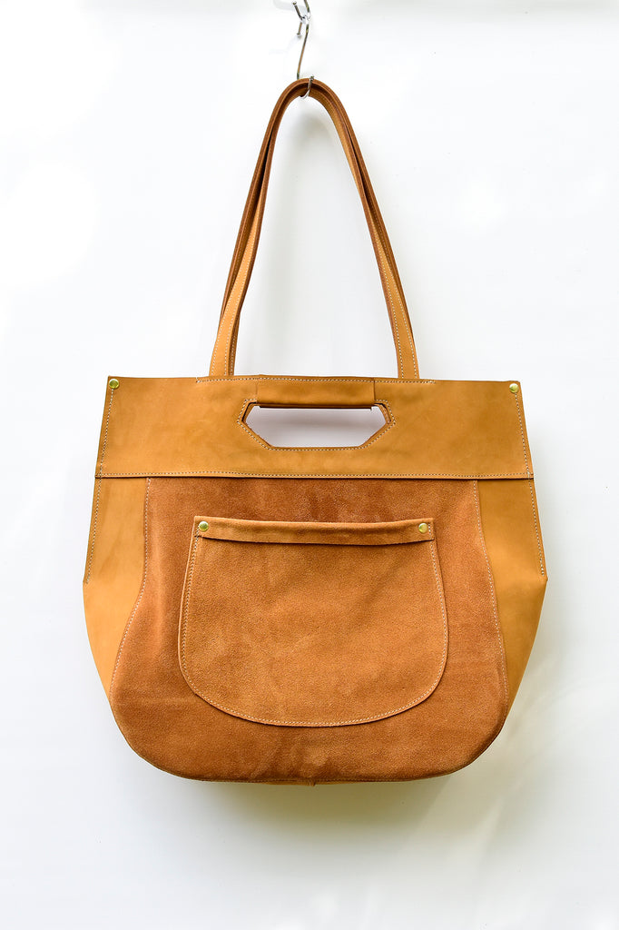 Maya Leather Tote