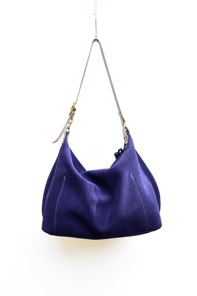 Zuri Suede Leather Hobo - Suede Shoulder Bag