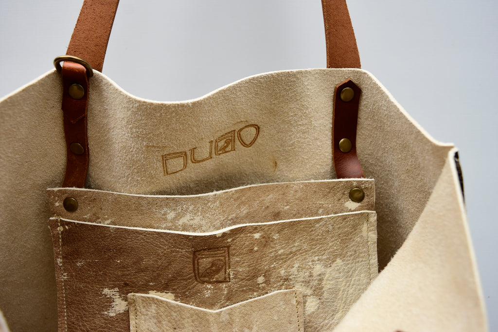 PiP Rustic Leather Tote