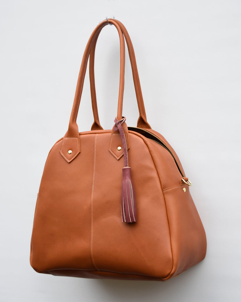 women's leather satchel