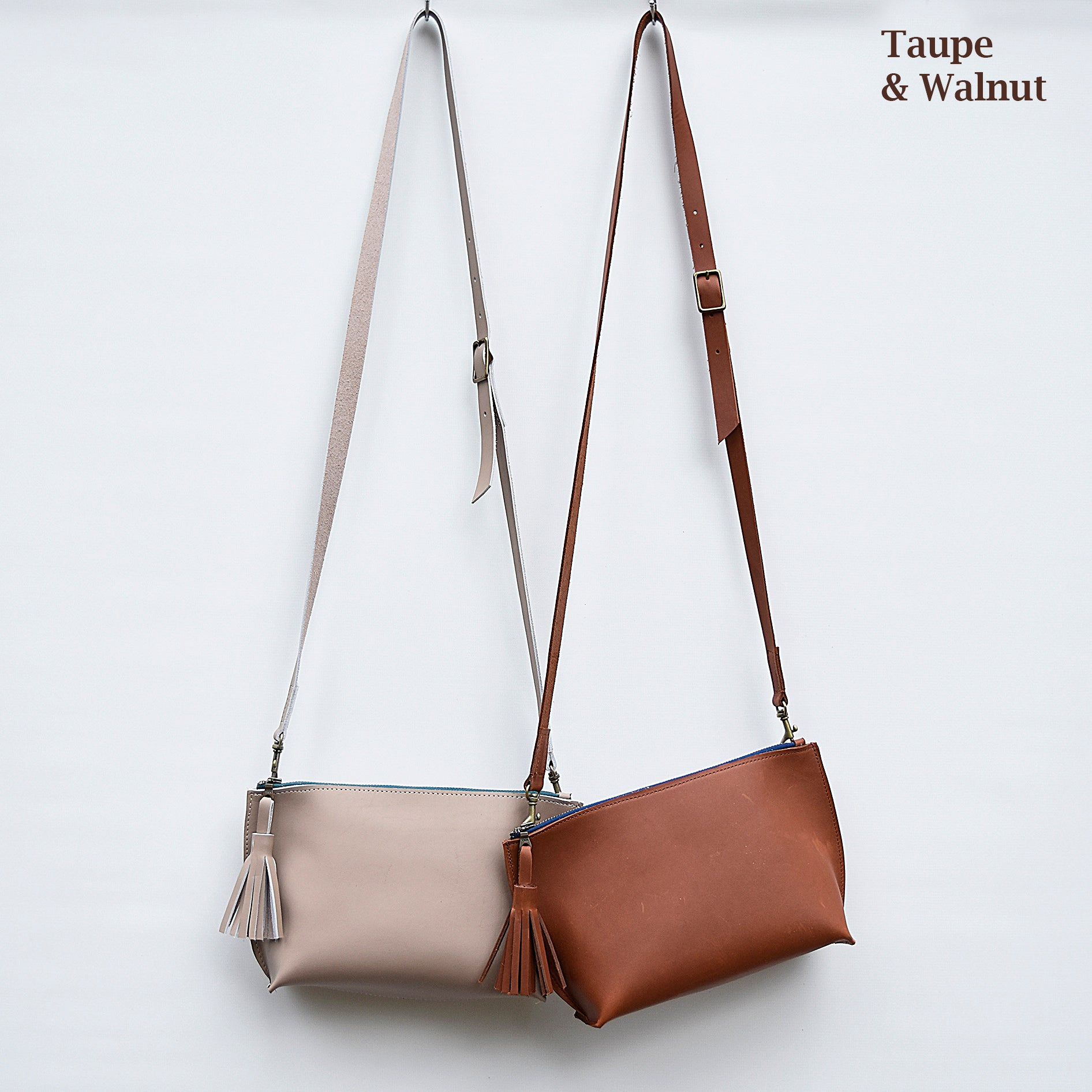 Everyday Leather Zip Cross-body   Leather Purse   Leather Crossbody Bag