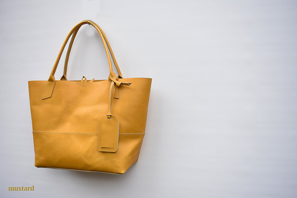 Savannah Large Leather Tote