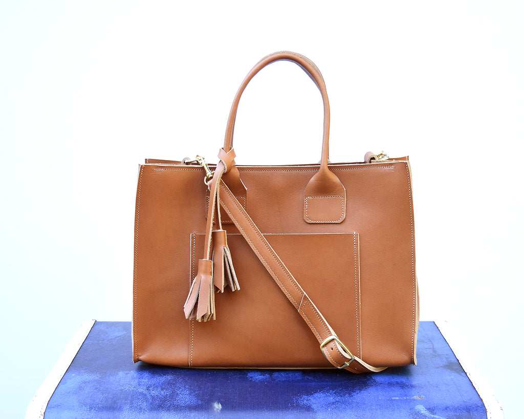 Stella Leather Tote Bag