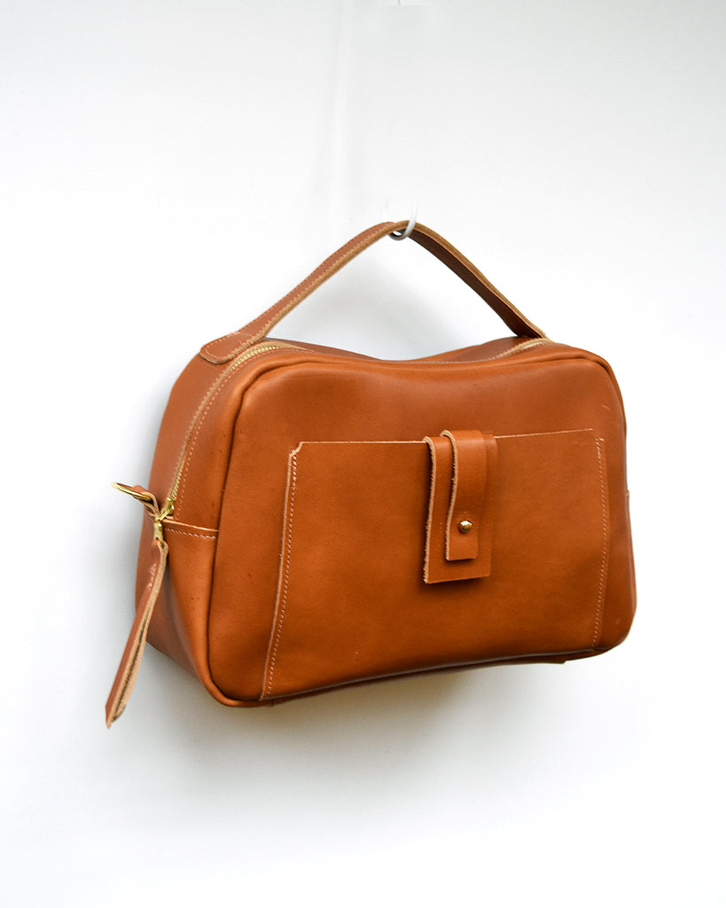 Bobbie Leather Satchel