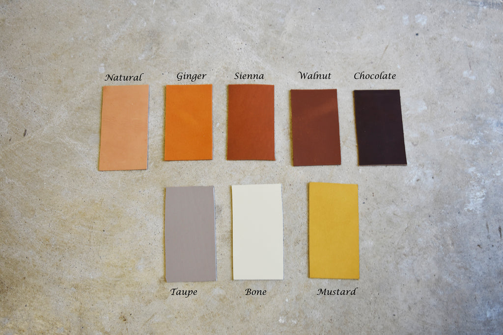 Leather Swatch Request - Leather samples