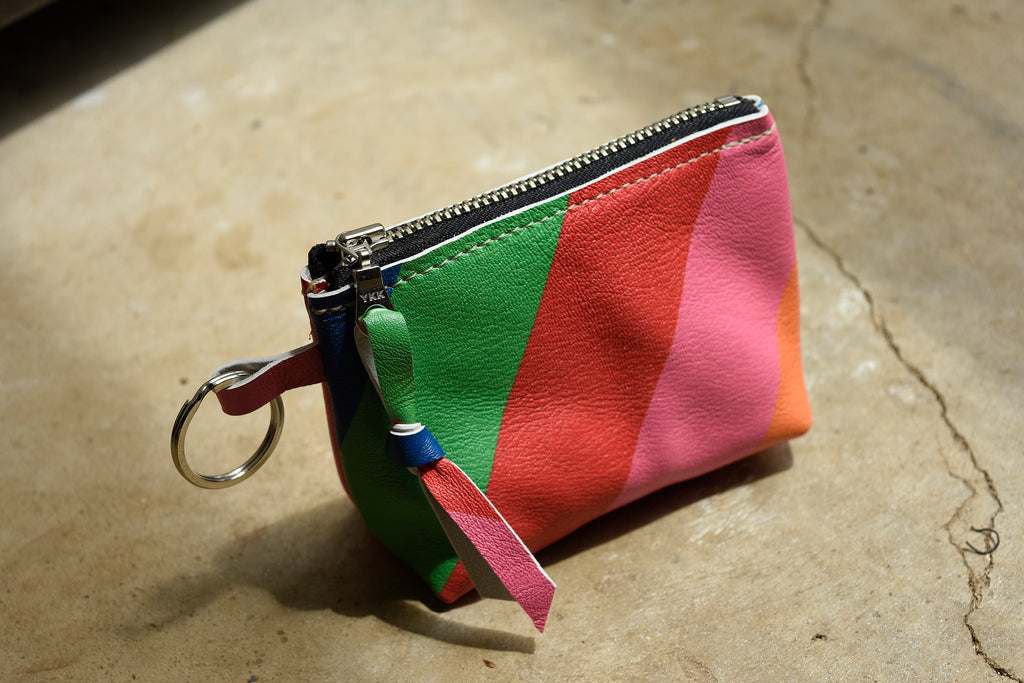 Lil' Softie - Suede Zip Coin Pouch