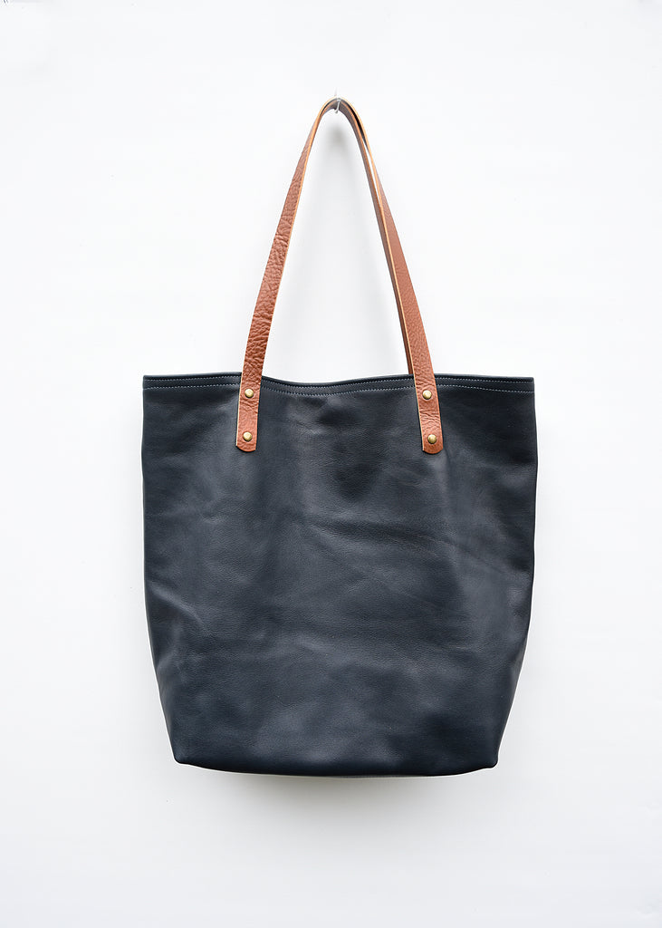 I'm a leather tote!