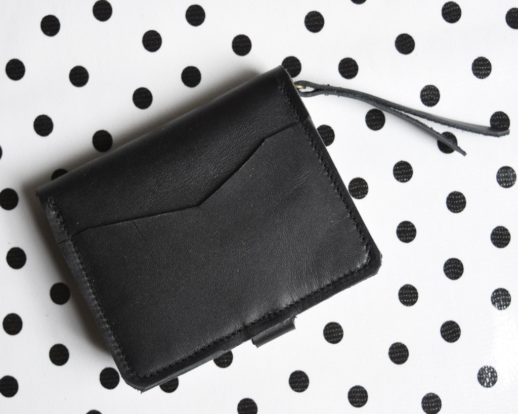Mini Accoridian Wallet - Women's leather wallet