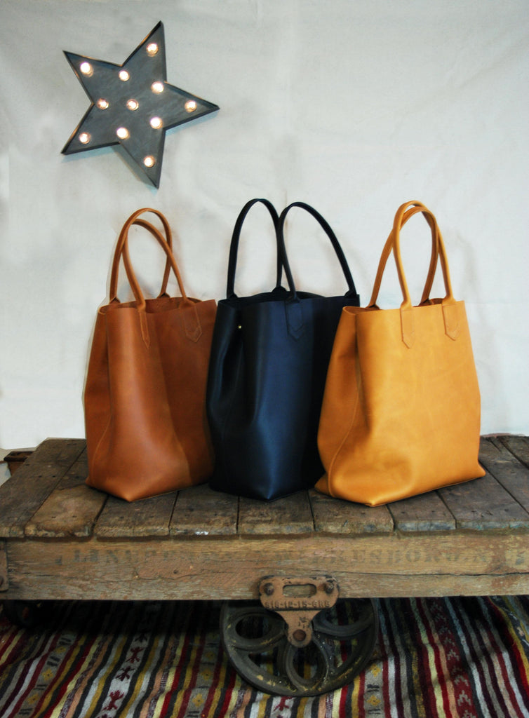 Basically Beautiful Leather Tote